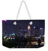 Panoramic Columbus Weekender Tote Bag