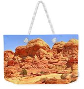 Panoramic Coyote Buttes Landscape Weekender Tote Bag