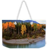 Panoramic Northern River Weekender Tote Bag