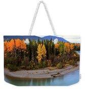 Panoramic Northern River Weekender Tote Bag