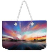 Panoramic Seascape Weekender Tote Bag