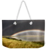Panoramic Storm In The Marshes Weekender Tote Bag