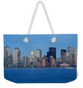 Panoramic Sunset View Of Lower Weekender Tote Bag