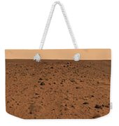 Panoramic View Of Bonneville Crater Weekender Tote Bag by Stocktrek Images