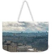Panoramic View Of Old Jerusalem City Weekender Tote Bag
