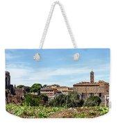 Panoramic View Of Rome Weekender Tote Bag