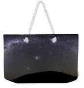 Panoramic View Of The Milky Way Weekender Tote Bag