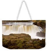 Panoramic Waterfall Manitoba Weekender Tote Bag