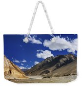 Panrama Of Mountains Ladakh Jammu And Kashmir India Weekender Tote Bag