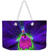Pansy 05 - Photopower - Thoughts Of You Weekender Tote Bag