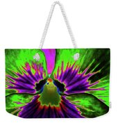 Pansy 06 - Photopower - Thoughts Of You Weekender Tote Bag