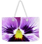 Pansy 07 - Thoughts Of You Weekender Tote Bag