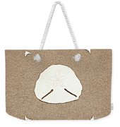 Full Pansy Shell Weekender Tote Bag