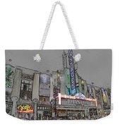 Pantages Theater Hollywood Weekender Tote Bag