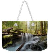 Panther Creek In Gifford Pinchot National Forest Weekender Tote Bag