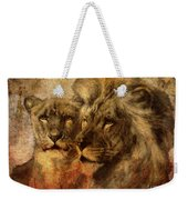 Panthera Leo 2016 Weekender Tote Bag