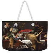 Pantry Scene With Servant By Frans Snyders Weekender Tote Bag