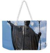 Papa Juan Pablo II - Mexico City II Weekender Tote Bag