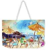 Papagayo Beach Bar In Lanzarote Weekender Tote Bag