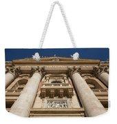 Papal Balcony Weekender Tote Bag