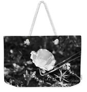 Paper Flower In B And W Weekender Tote Bag