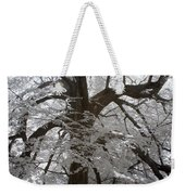 Paper Mulberry In Infrared Weekender Tote Bag