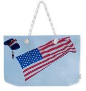Parachute And Flag Weekender Tote Bag