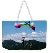 Parachuting Weekender Tote Bag