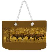 Parade In The Shade On A Hot Afternoon Weekender Tote Bag