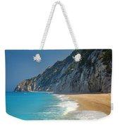 Paradise Beach With Blue Waters Weekender Tote Bag