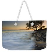 Paradise Gold Weekender Tote Bag by Mike  Dawson
