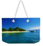 Paradise Island Haiti Weekender Tote Bag