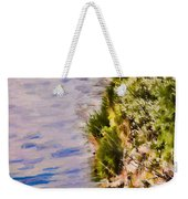 Paradise Lake Shore Weekender Tote Bag