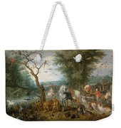 Paradise Landscape With Animals Weekender Tote Bag