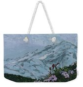 Paradise Mount Rainier Weekender Tote Bag