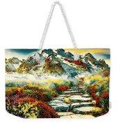 Paradise Mountain Weekender Tote Bag