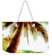 Paradise Palm Weekender Tote Bag