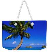 Paradise Palm Over Lanikai Weekender Tote Bag