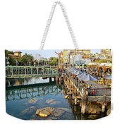 Paradise Pier At California Adventure Weekender Tote Bag
