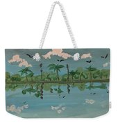 Paradise Reflection Weekender Tote Bag