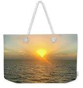 Paradise Sunset Oasis Weekender Tote Bag