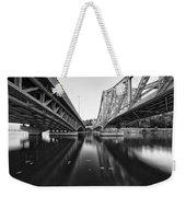 Parallel Bridge Weekender Tote Bag