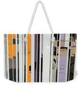 Parallel Lines Weekender Tote Bag