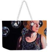 Parallel Spheres Weekender Tote Bag