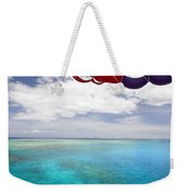 Parasail Over Fiji Weekender Tote Bag