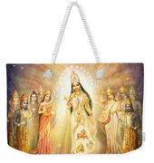 Parashakti Devi - The Great Goddess In Space Weekender Tote Bag