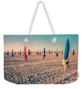 Parasols Of Deauville Weekender Tote Bag