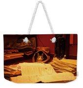 Parcel Cat Weekender Tote Bag