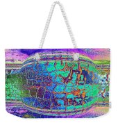Parched Earth Abstract Weekender Tote Bag