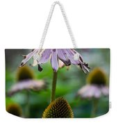 Parched Purple Petals Weekender Tote Bag